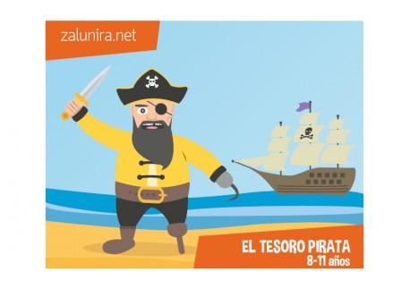El tesoro pirata - 8-11 años